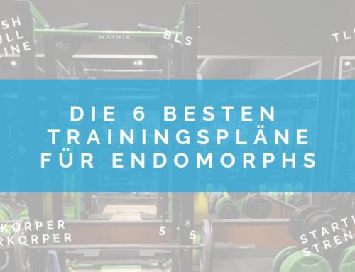 Die 6 besten Trainingspläne (Endomorph oder nicht)