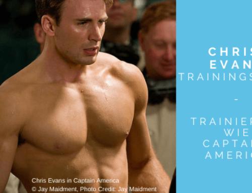 """Chris Evans Workout – So trainierst du wie der """"Cap"""""""