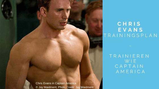 Chris Evans Trainingsplan - Titelbild